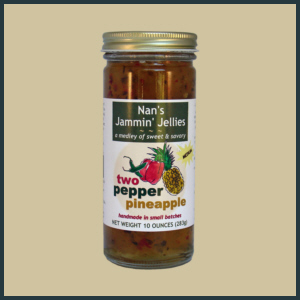 Two Pepper Pineapple Jelly